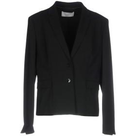 《セール開催中》BOSS BLACK レディース テーラードジャケット ブラック 42 バージンウール 96% / ポリウレタン 4%