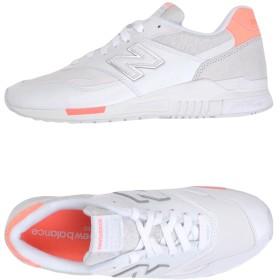《セール開催中》NEW BALANCE レディース スニーカー&テニスシューズ(ローカット) ホワイト 9.5 革 840 SUEDE/MESH