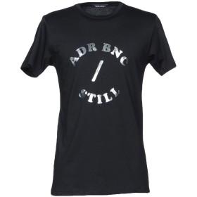 《期間限定 セール開催中》ADRIENNE BONCOEUR メンズ T シャツ ブラック XS コットン 100%
