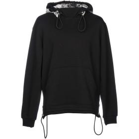 《期間限定 セール開催中》VERSUS VERSACE メンズ スウェットシャツ ブラック XS コットン 100% / ナイロン