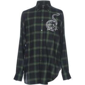 《期間限定セール開催中!》STELLA McCARTNEY MEN メンズ シャツ グリーン 38 100% ウール ポリエステル
