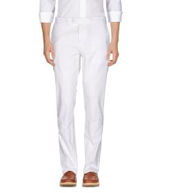 《期間限定セール開催中!》HAIKURE メンズ パンツ ホワイト 36W-32L コットン 97% / ポリウレタン 3%