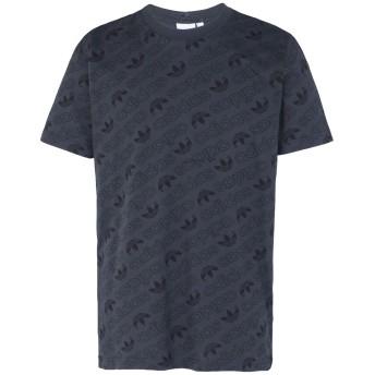 《期間限定セール開催中!》ADIDAS ORIGINALS メンズ T シャツ スチールグレー S コットン 100% AOP Tee