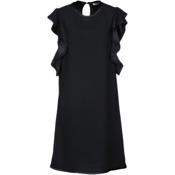 《セール開催中》P.A.R.O.S.H. レディース ミニワンピース&ドレス ブラック S 100% ポリエステル