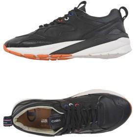 《期間限定 セール開催中》CASBIA x CHAMPION メンズ スニーカー&テニスシューズ(ローカット) ブラック 44 革 VELOCE ATL