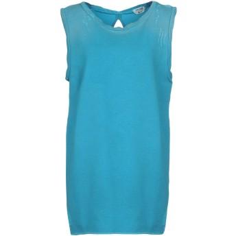 《期間限定セール開催中!》CYCLE レディース スウェットシャツ ターコイズブルー XS コットン 100%