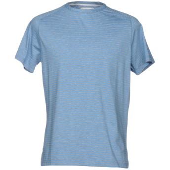 《9/20まで! 限定セール開催中》VI.E SIX EDGES メンズ T シャツ アジュールブルー S 100% コットン