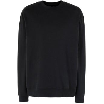 《期間限定セール開催中!》ALLSAINTS メンズ スウェットシャツ ブラック S コットン 100% VIGO CREW