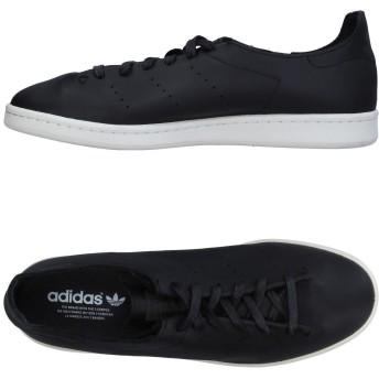 《期間限定 セール開催中》ADIDAS ORIGINALS メンズ スニーカー&テニスシューズ(ローカット) ブラック 4 革