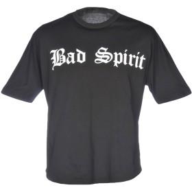 《期間限定セール開催中!》BAD SPIRIT メンズ T シャツ ブラック M 100% コットン