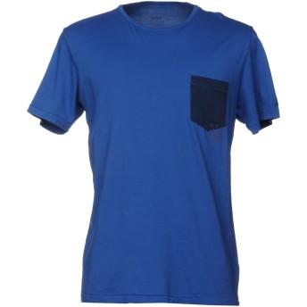 《9/20まで! 限定セール開催中》VINTAGE 55 メンズ T シャツ アジュールブルー S 100% コットン