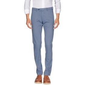 《送料無料》B SETTECENTO メンズ パンツ ブルーグレー 30 コットン 97% / ポリウレタン 3%