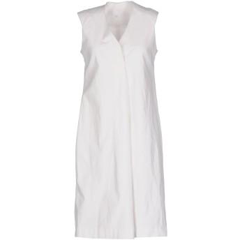《セール開催中》STEPHANIE ANSPACH レディース ミニワンピース&ドレス ホワイト 40 コットン 95% / ポリウレタン 5%