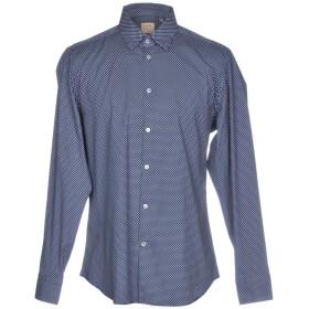 《セール開催中》MICHAEL COAL メンズ シャツ ブルー 37 コットン 100%