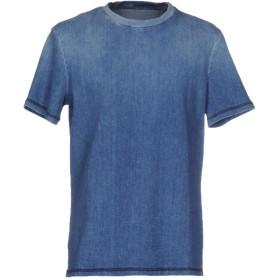 《期間限定セール開催中!》DONDUP メンズ デニムシャツ ブルー S 92% コットン 6% エラストマルチエステル 2% ポリウレタン