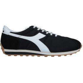 《9/20まで! 限定セール開催中》DIADORA メンズ スニーカー&テニスシューズ(ローカット) ブラック 6.5 紡績繊維 / 革