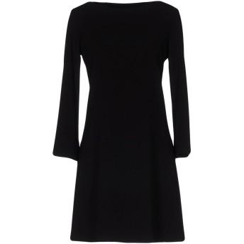 《セール開催中》DIANE KRGER レディース ミニワンピース&ドレス ブラック 48 ポリエステル 95% / ポリウレタン 5%