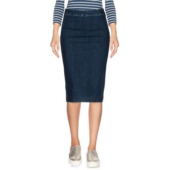 《セール開催中》MANILA GRACE レディース デニムスカート ブルー 38 コットン 69% / ポリエステル 26% / レーヨン 4% / ポリウレタン 1%