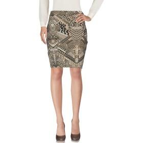 《期間限定 セール開催中》JUST CAVALLI レディース ひざ丈スカート サンド 40 レーヨン 95% / ポリウレタン 5%