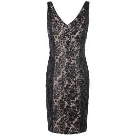 《期間限定 セール開催中》LAUREN RALPH LAUREN レディース ミニワンピース&ドレス ブラック 4 ナイロン 100% Floral Sequin Dress