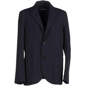 《期間限定セール開催中!》ALLEGRI メンズ テーラードジャケット ダークブルー 48 ポリエステル 93% / スパンデックス 7%