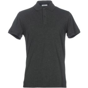 《期間限定セール開催中!》BIKKEMBERGS メンズ ポロシャツ スチールグレー XS 94% コットン 6% ポリウレタン
