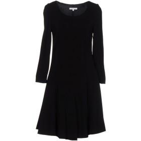 《セール開催中》PATRIZIA PEPE レディース ミニワンピース&ドレス ブラック 46 95% レーヨン 5% ポリウレタン