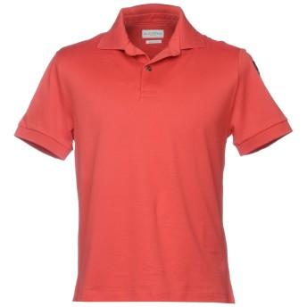《9/20まで! 限定セール開催中》BALLANTYNE メンズ ポロシャツ レッド XL コットン 100%