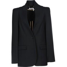 《期間限定 セール開催中》CHLO レディース テーラードジャケット ブラック 34 バージンウール 98% / ポリウレタン 2%