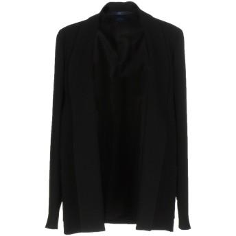 《期間限定セール開催中!》BLUE LES COPAINS レディース テーラードジャケット ブラック 40 トリアセテート 71% / ポリエステル 29%