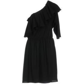 《期間限定セール開催中!》MOQTTE レディース ミニワンピース&ドレス ブラック L ポリエステル 100%