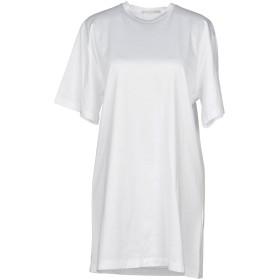 《期間限定セール開催中!》MARCO DE VINCENZO レディース T シャツ ホワイト 38 コットン 100% / レーヨン / ポリエステル