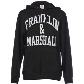 《期間限定セール開催中!》FRANKLIN & MARSHALL メンズ スウェットシャツ ブラック XL コットン 100%
