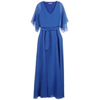 《期間限定セール開催中!》HOPE COLLECTION レディース ロングワンピース&ドレス ブルー 44 100% ポリエステル