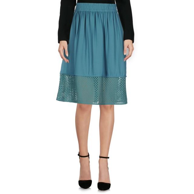 《セール開催中》VERO MODA レディース ひざ丈スカート ディープジェード XS ポリエステル 100%
