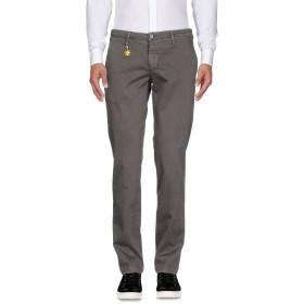 《9/20まで! 限定セール開催中》MANUEL RITZ メンズ パンツ 鉛色 44 コットン 100%