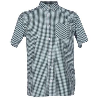 《セール開催中》CARHARTT メンズ シャツ グリーン S コットン 100%