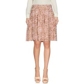 《送料無料》LIVIANA CONTI レディース ひざ丈スカート ローズピンク 40 コットン 80% / ナイロン 20%