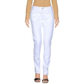 《セール開催中》TENAX レディース パンツ ホワイト 42 コットン 97% / ポリウレタン 3%