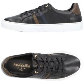 《期間限定 セール開催中》PANTOFOLA D'ORO メンズ スニーカー&テニスシューズ(ローカット) ブラック 45 革