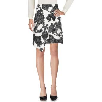 《セール開催中》TANYA TAYLOR レディース ひざ丈スカート ブラック 4 レーヨン 97% / ポリウレタン 3%