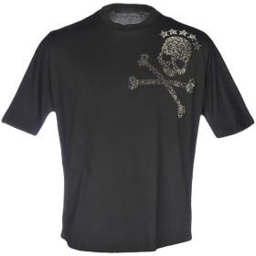 《期間限定 セール開催中》BAD SPIRIT メンズ T シャツ ブラック S コットン 100%