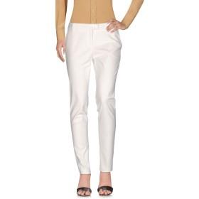 《期間限定セール開催中!》BLUGIRL BLUMARINE レディース パンツ ホワイト 40 コットン 48% / ポリエステル 48% / ポリウレタン 4%