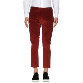 《期間限定 セール開催中》PT01 GHOST PROJECT メンズ パンツ 赤茶色 50 コットン 98% / ポリウレタン 2%