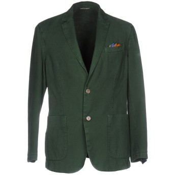 《期間限定セール開催中!》AT.P.CO メンズ テーラードジャケット グリーン 52 コットン 100%