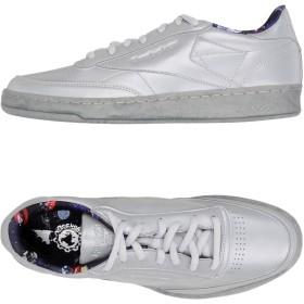 《セール開催中》REEBOK メンズ スニーカー&テニスシューズ(ローカット) グレー 8.5 紡績繊維 CLUB C 85 TDG