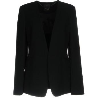 《期間限定セール開催中!》PINKO レディース テーラードジャケット ブラック 44 59% トリアセテート 41% ポリエステル