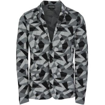 《セール開催中》EMPORIO ARMANI メンズ テーラードジャケット グレー 54 バージンウール 100%