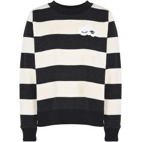 《期間限定セール開催中!》ESSENTIEL ANTWERP レディース スウェットシャツ アイボリー 4 コットン 100% Pillard sequins cloud sweater