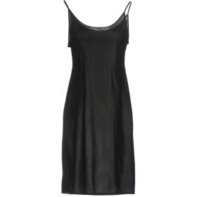 《9/20まで! 限定セール開催中》DOROTHEE SCHUMACHER レディース ミニワンピース&ドレス ブラック 1 ナイロン 80% / ポリウレタン 20%